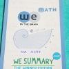 ►We Brain วีเบรน◄ MA A287 We Summary The Winner Edition หนังสือกวดวิชาสรุปเนื้อหาคณิตศาสตร์ ม.ต้น ครบทั้งหมดทุกบท อ่านเข้าใจง่าย ในหนังสือมีรวบรวมสูตร ,Concept สำคัญรวมถึงมีสูตรลัดและเทคนิควิธีคิดแบบเหนือชั้นของอาจารย์ เหมาะสำหรับนักเรียนชั้นม.ต้น ที่กำลั