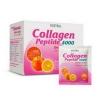 Vistra Collagen Peptide 4000 ส้ม 10 ซอง ลดริ้วรอยและสร้างคอลลาเจน บำรุงผิวขาวใส