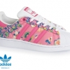 (พรีออเดอร์)Adidas Originals Superstar Shoes Ray Pink/White
