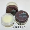 MMUMANIA Pot Rouge : Clear Balm ลิปบาล์มจากธรรมชาติ บำรุงริมฝีปากให้นุ่มชุ่มชื่น