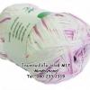ไหมพรม Bamboo Cotton สีเหลือบ รหัสสี M17