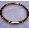 กำไลหลอด gold plated 1microns
