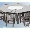 WHS-01-3 โต๊ะเก้าอี้นักเรียน ระดับมัธยม ( 1 ชุดประกอบด้วย โตีะ 8 ตัว ) เก้าอี้ 8 ตัว (สีเทา)