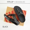 FitFlop : BOOGALOO : Black : Size US 8 / EU 39