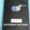 ►วีเบรน◄ MA A515 คณิตศาสตร์ ม.3 เศษส่วนของพหุนาม Polynomal Fractions สรุปเนื้อหาสูตรสำคัญ มีจดเกือบทั้งเล่ม จดละเอียด มีจดเน้นจุดที่ชอบออกสอบบ่อยๆ มีจดเทคนิคลัดเพิ่มเติม ในหนังสือมีโจทย์ Assignment ,ข้อสอบ ร.ร.เตรียมอุดมปีเก่า และแนวข้อสอบ มีเฉลยละเอียดขอ
