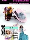 CH102 ใหม่! หมวกสานแต่งดอกไม้หรู ไอเท็มสาวหวานเก๋ที่จำเป็นสำหรับสไตล์เฟรนช์วินเทจ และสไตล์สาวญี่ปุ่น/เกาหลี สีชมพู