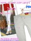 #SKINNYฮิตฮอตแฟชั่น เก๋สุดๆ PB431 CopLEVI'sSkinny กางเกงสกินนี่ Skinny ผ้ายืดเนื้อหนา ผ้านิ่ม รุ่นนี้ทรงสวยไม่มีไม่ได้แล้วรุ่นนี้ก๊อปLEVI's ไซส์ M