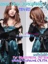 สไตล์สาวเกาหลีTB480 : Fur Blink Korean: ใหม่! เฟอร์คลุมไหล่เฟอร์สีดำแต่งง่ายเพิ่มความหรู ลุคสาวเกาหลี ผูกโบซาตินด้านในบุอย่างดีด้วยซาติน