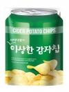 Pre Order / ขนมเกาหลี CIDER POTATO CHIPS (사이다맛의이상한감자칩 130G )