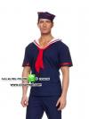 แฟนซีผู้ชายชุดกะลาสีเรือ ชุดทหารเรือชาย ชุดแฟนซีเครื่องแบบ ชุดทหารชาย ชุดแฟนซีชาย