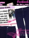 #ใหม่#ไซส์42 เอาใจสาวอวบ #สกินนี่เอวสูงที่กำลังฮิต# LPB260 HighwaistSkinnyกางเกงสกินนี่เอวสูงเก็บหน้าท้องดีสวยยีนส์ฟอกผ้ายืดญี่ปุ่น สียีนส์เข้ม
