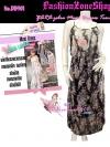 มาแล้วเทรนด์แรงกับ Maxi Dress : DB901 ใหม่! ชุดแซก/แม๊กซี่เดรสแบบแบรนด์ZARA ผ้าชีฟองลายดอกเล็กๆสีสันหวาน แบบไฮโซแบรนด์ ผ้าสวยไม่ใช่ผ้าก๊อป
