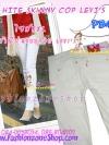 #SKINNYฮิตฮอตแฟชั่นเกาหลีเก๋สุดๆPB434 CopLEVI'sSkinny กางเกงสกินนี่ Skinny ผ้ายืดเนื้อหนา ผ้านิ่ม รุ่นนี้ทรงสวยไม่มีไม่ได้แล้วรุ่นนี้ก๊อปLEVI's XXL
