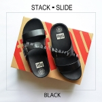 * NEW * FitFlop : STACK SLIDE : Black : Size US 5 / EU 36