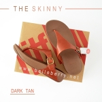 * NEW * FitFlop The Skinny : Dark Tan : Size US 5 / EU 36