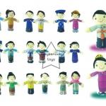 SKAEC-32 หุ่นมือตุ๊กตาอาเซียน 10 แบบ