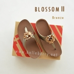 * NEW * FitFlop Blossom II : Bronze : Size US 9 / EU 41
