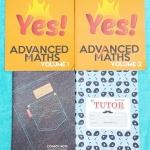 ►พี่ตุ้ยเดอะติวเตอร์◄ MA 750A Set หนังสือกวดวิชา Advanced Maths เล่ม 1+2 และสมุดโน้ต 2 เล่ม รวมโจทย์คณิตศาสตร์ระดับยากครบทุกบท เหมาะสำหรับเด็กที่มีพื้นฐานดี จดครบเกือบเล่มทั้ง 2 เล่ม จดละเอียดมาก มีบางข้อเว้นว่างไปบ้าง มีจดเทคนิคลัดเพิ่มเติมหลายจุด ในสมุด