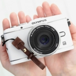 Pre Order / Dark Brown Leather Finger Strap views ssieseuta Tero BUTTERO