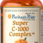 Puritan's Pride C-1000 Complex™ 1000 mg / 250 Coated Caplets / Item #003143