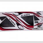 สติ๊กเกอร์ CBR150-R ปี 2014 รุ่น 10 ติดรถสีขาว