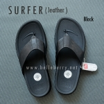 * NEW * FitFlop Men's : SURFER : Black : Size US 8 / EU 41