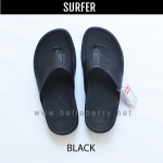 * NEW * FitFlop Men's : SURFER : Black : Size US 9 / EU 42