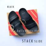 **พร้อมส่ง** FitFlop Stack Slide : Black : Size US 6 / EU 37