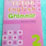 ►The Tutor◄ หนังสือเรียนภาษาอังกฤษ Wonderful Grammar 2 สรุปแกรมม่าเพื่อเตรียมสอบ ENT โดยเฉพาะ เน้นเนื้อหา มีโจทย์ประจำบทบ้าง#มีกฎพิเศษที่ควรรู้ ด้านหลังมีเฉลย หนังสือใหม่เอี่ยม