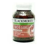 Blackmores Bio E 500 IU 60 แคปซูล ช่วยบำรุงผิวให้สดใส ลดรอยแผลเป็น เพิ่มความชุ่มชื้น