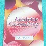 ►The Brain◄ MA 4024 หนังสือกวดวิชา คณิตศาสตร์ ม.4 เรขาคณิตวิเคราะห์ มีสรุปเนื้อหา สูตรสำคัญ ก่อนตะลุยทำโจทย์แบบฝึกหัด มีข้อควรรู้ ข้อควรระวัง เทคนิคลัดเยอะมาก จดครบเกือบทั้งเล่ม จดละเอียด โจทย์ Assignment มีเฉลยละเอียดและวิธีทำละเอียด