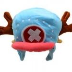 วันพีช หมวกChopper New World (สีฟ้า )