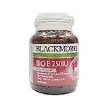 Blackmores Bio E 250 IU 60 แคปซูล ช่วยบำรุงผิวให้สดใส ลดรอยแผลเป็น เพิ่มความชุ่มชื้น