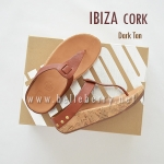 * NEW * FitFlop IBIZA Cork : Dark Tan : Size US 8 / EU 39