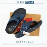 FitFlop : SLING WEAVE : Supernavy : Size US 10 / EU 43
