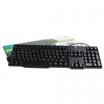 PS/2 Keyboard LOGITECH (K100) Black