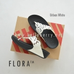 **พร้อมส่ง** รองเท้า FitFlop FLORA : Urban White : Size US 7 / EU 38