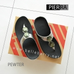 * NEW * FitFlop Pierra : Pewter : Size US 5 / EU 36