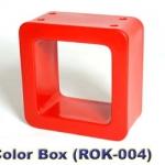 PPRAK-004 Color box-กล่องชั้นโชว์ เปิด 2 ด้าน