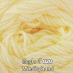 ไหมพรม Eagle กลุ่มใหญ่ สีพื้น รหัสสี 020