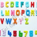 กระดุมตัวอักษรภาษาอังกฤษ A-Z, 0-9 (ตัวใหญ่)