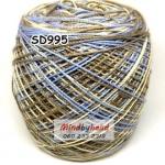 สหสินเส้นอ้วน สีเหลือบ SD995