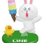 """""""พร้อมส่ง""""นำเข้าจากญี่ปุ่น 100% LINE Model LINE CHARACTER Figure Collection โมเดลตุ๊กตา line ตั้งโต๊ะ -Cony ถือไอติม"""