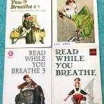 ►ครูพี่แนน Enconcept◄ ENG A805 หนังสือกวดวิชาภาษาอังกฤษ Read While You Breathe เล่ม 1-4 ในหนังสือมี Passage ฝึกอ่านจับใจความ มีแบบฝึกหัดและเฉลยครบทุกข้อ ครูพี่แนนเรียง Passage ตั้งแต่ระดับง่ายไปจนถึงระดับยาก ในหนังสือมีเขียนบางหน้า มีแบบทดสอบครบทุก Part เ