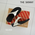 FitFlop The Skinny : Silver : Size US 6 / EU 37