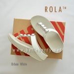 ** NEW ** FitFlop : ROLA : Urban White : Size US 8 / EU 39