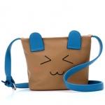 """""""พร้อมส่ง""""กระเป๋าแฟชั่นBeibaobao กระเป๋าสะพาย หน้าการ์ตูน น่ารักๆ -สีApricot"""