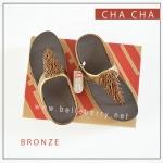 FitFlop CHA CHA : Bronze : Size US 6 / EU 37