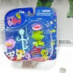 Littlest Pet Shop ชุด Sassiest Turtle With Hats Action Figure(เต่า)