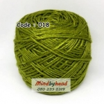 ไหมเบบี้ซิลค์ (ฺBaby Silk) รหัสสี 018 สีเขียวตอง